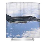 Lufwaffe F-4f Phantom Shower Curtain
