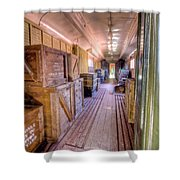 Luggage Car Shower Curtain