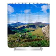 Luggala, Co Wicklow, Ireland Shower Curtain