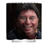 Lunch Is Over Back To Work Shower Curtain