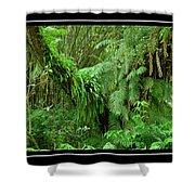 Lush Green Landscape Shower Curtain