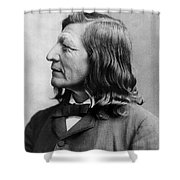 Luther Standing Bear Shower Curtain