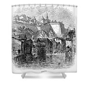 Luxembourg, 19th Century Shower Curtain