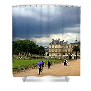 Luxembourg Gardens 2 Shower Curtain