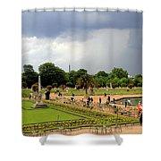 Luxembourg Gardens Shower Curtain