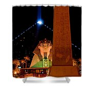 Luxor At Night Shower Curtain