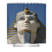 Luxor Sphinx II Shower Curtain