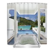 Luxury Bathroom  Shower Curtain by Setsiri Silapasuwanchai