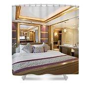 Luxury Bedroom Shower Curtain