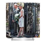 M And J 01 Shower Curtain