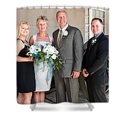 m and J 053 Shower Curtain