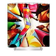 M-m-m My Stilettos Shower Curtain