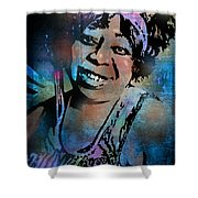 Ma Rainey Shower Curtain