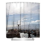 Ma'alaea Marina Shower Curtain