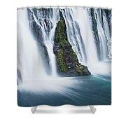 Macarthur-burney Falls 1 Shower Curtain