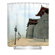 Macau Fisherman's Wharf Shower Curtain
