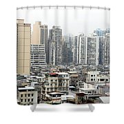 Macau View Shower Curtain