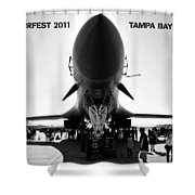 Macdill Airfest  Shower Curtain