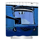 Machine Gun Shower Curtain