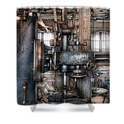 Machinist - My Really Cool Job Shower Curtain by Mike Savad