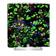 Macro Marsh Shower Curtain