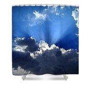Macrocosm Shower Curtain by Lene Pieters