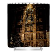 Macy's Ny Christmas Lights Shower Curtain