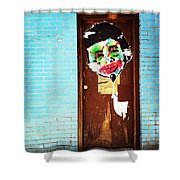 Mad Libs Graffiti Shower Curtain