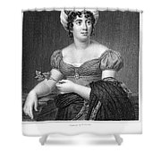 Madame De Sta�l (1766-1817) Shower Curtain