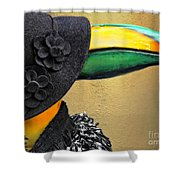 Madame Toucan Of New Orleans Shower Curtain