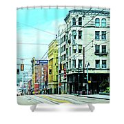 Madison Avenue Shower Curtain