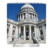 Madison Capitol Building Shower Curtain