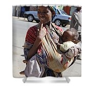 Madonna Of Addis Ababa No.2 Shower Curtain