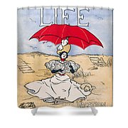 Magazine: Life, 1897 Shower Curtain