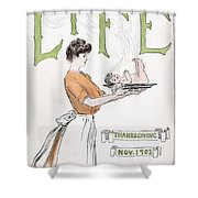 Magazine: Life, 1903 Shower Curtain