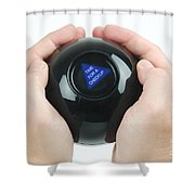 Magic Eight Ball, Time For A Checkup Shower Curtain