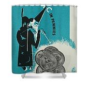 Magic In Pennies Shower Curtain