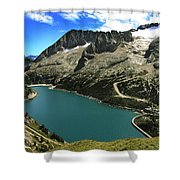 Magic Lake Shower Curtain
