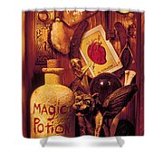 Magic Things Shower Curtain by Garry Gay