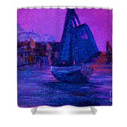 Magic Voyage Shower Curtain