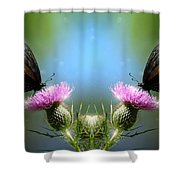 Magical Butterflies Shower Curtain