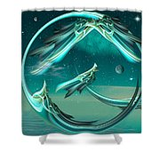 Magical Eve Shower Curtain