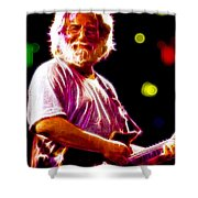 Magical Jerry Garcia Shower Curtain