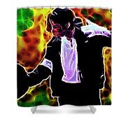Magical Michael Shower Curtain by Paul Van Scott