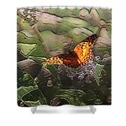 Magical Places For Butterflies Shower Curtain