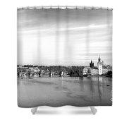 Magical Prague Shower Curtain