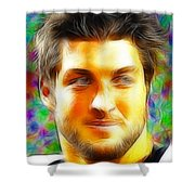 Magical Tim Tebow Face Shower Curtain
