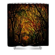 Magick Mall Shower Curtain by Chris Lord