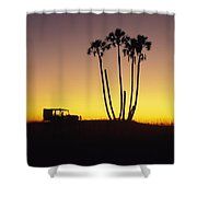 Magkadikadi, Botswana Shower Curtain