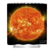 Magnificent Coronal Mass Ejection Shower Curtain